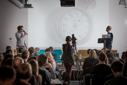 Our live One Minute Brief talk at LBi London.