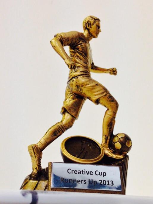 McCann FC Creative Cup Trophy