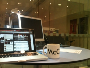 Our McCann London Office for the day