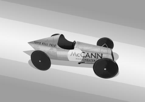McCann Soapbox design - Stage 1